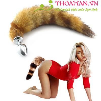 Dụng cụ inox kích thích hậu mộn đuôi cáo