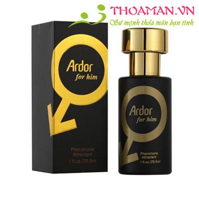 Nước hoa kích dục nữ Ardor for him