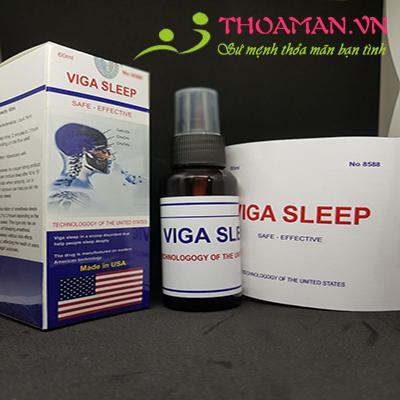 Thuốc Mê Dạng Xịt Cực Mạnh Viga Sleep (USA)
