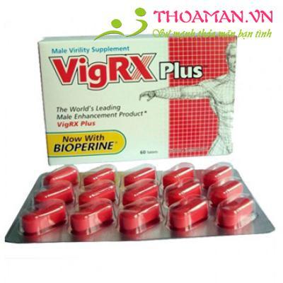 Thuốc tăng kích thước dương vật VigRx Plus