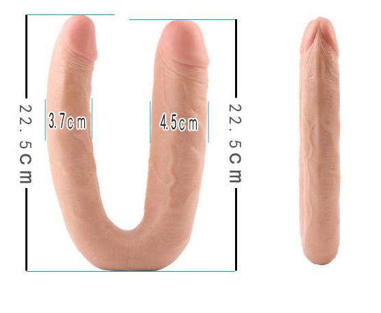 kích thước Dương vật giả cao cấp 2 đầu